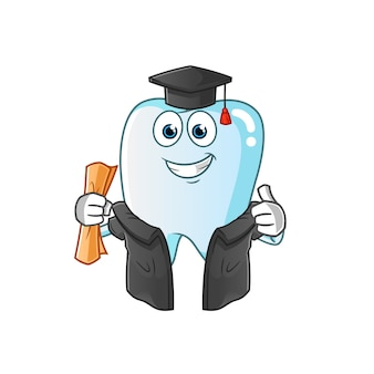 Zahnabschlussillustration