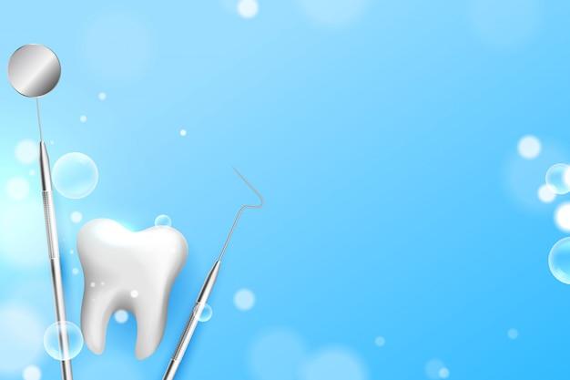 Zahnärztlicher medizinischer hintergrund