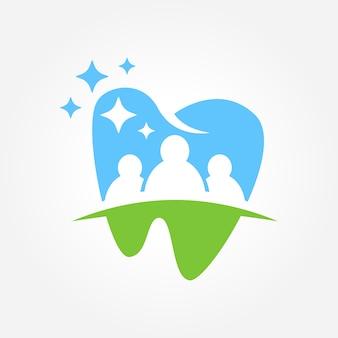 Zahnärztliches geschäftssymbol design