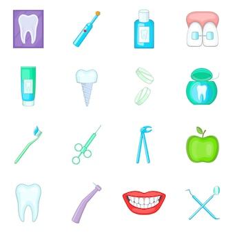 Zahnarztikonen eingestellt