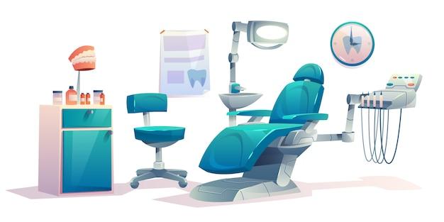 Zahnarztpraxis zahnärztlichen schrank
