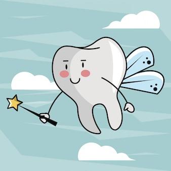 Zahnfee cartoon
