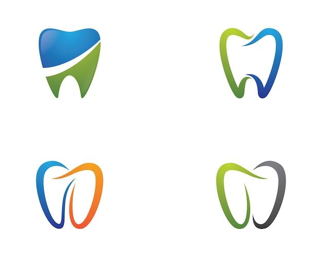 Zahnmedizinische symbolillustration