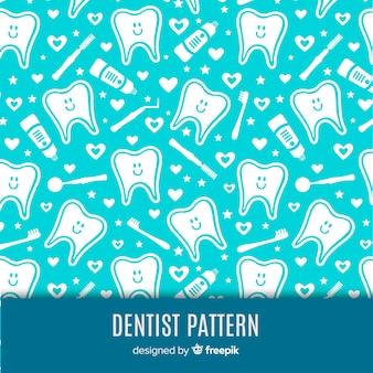 Zahnmedizinisches muster