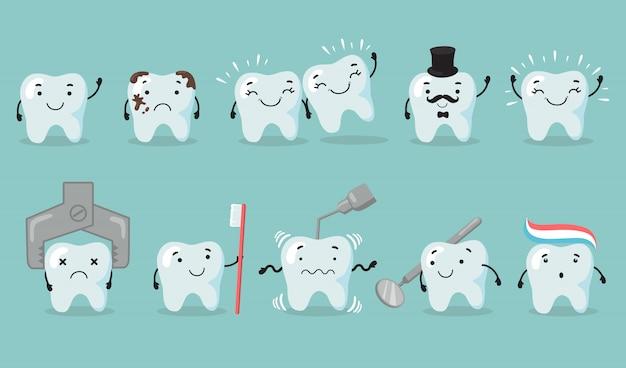 Zahnpflege eingestellt