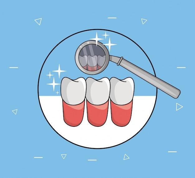 Zahnpflege und hygiene