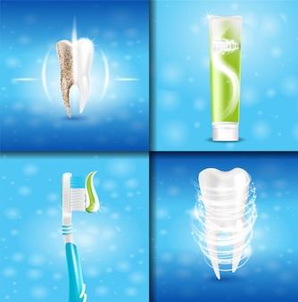 Zahnweißpasta-gesundes zahn-extrakonzept