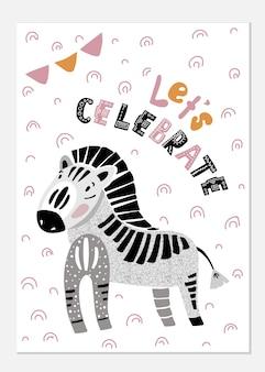 Zebra-karte