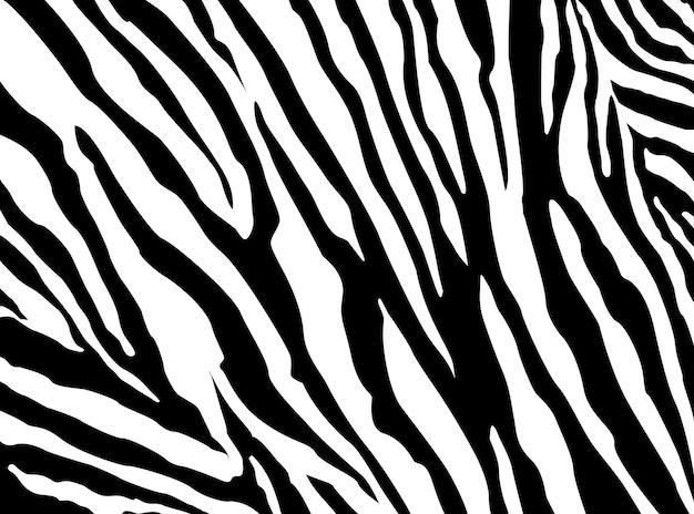 Zebra-muster-vektor. eps 10