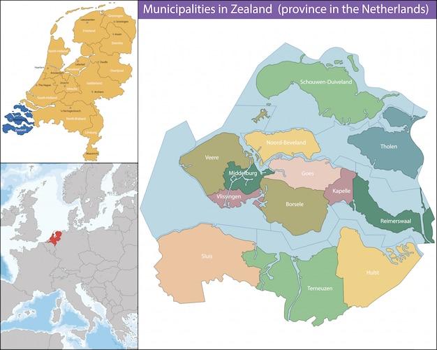 Zeeland ist eine provinz der niederlande