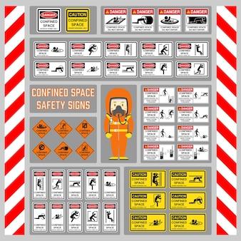 Zeichen und symbole zur verwendung als sicherheitswarnung und -regelung