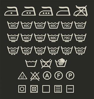 Zeichen waschen