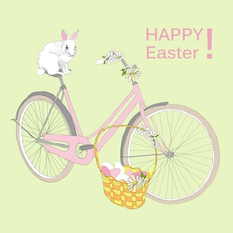 Zeichnung happy easter template
