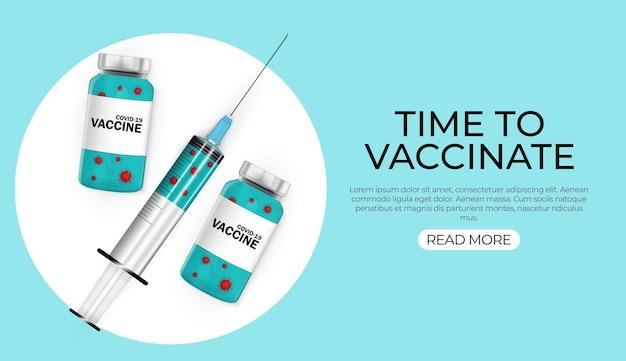 Zeit für die impfung des konzepts 2021.koronavirus-impfkonzept.