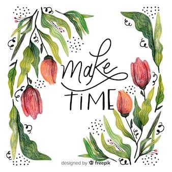 Zeit schaffen