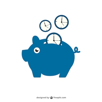 Zeit sparen mit sparschwein