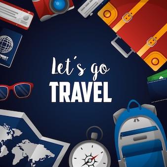 Zeit um die welt zu reisen