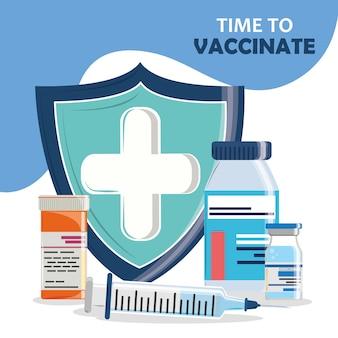 Zeit zu impfen
