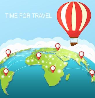 Zeit zu reisen.