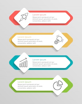 Zeitleiste infografiken