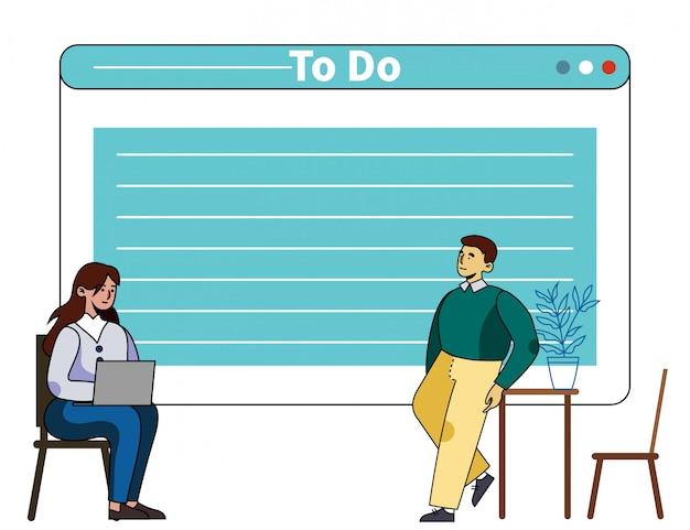 Zeitmanagement-training mit persönlichem mentor
