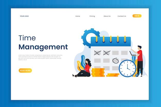 Zeitmanagement und unternehmensplanung mit charakter