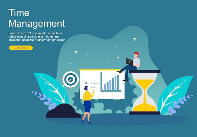 Zeitmanagement und verschleppung von webseiten