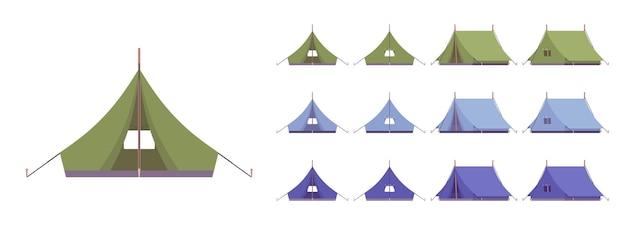 Zeltunterstand-set
