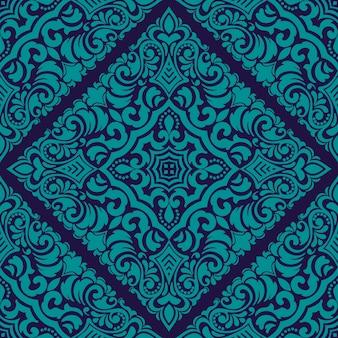 Zentangle-muster mit geometrischem ornamentmuster. traditionelle verzierung orientieren.