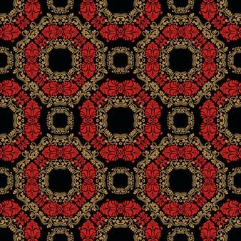 Zentangle redete geometrischen verzierungmusterhintergrund an