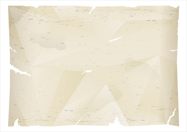 Zerknittertes blatt altes papier