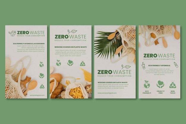 Zero waste instagram geschichten
