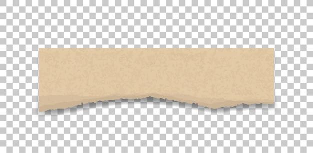 Zerrissene papier textur.