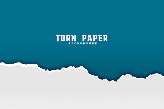 Zerrissener zerrissener papierhintergrund