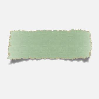 Zerrissenes papier banne