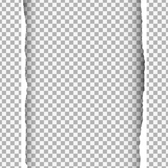 Zerrissenes papier hintergrund