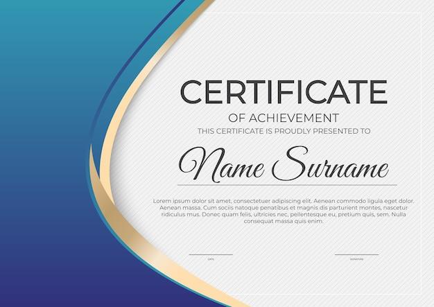 Zertifikat, hintergrund der diplomvorlage.