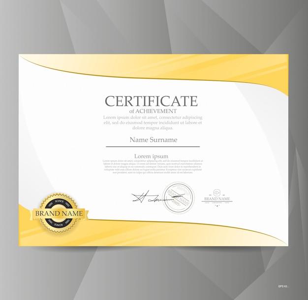 Zertifikatvorlage.