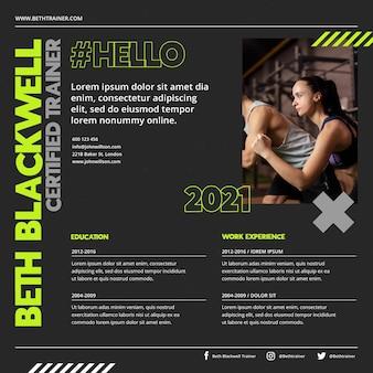 Zertifizierter trainer online cv