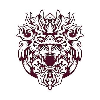 Zhera vektor-illustration