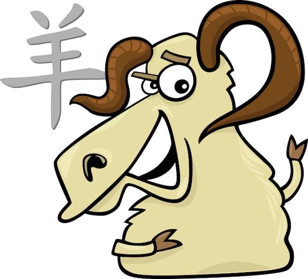 Ziege oder ram chinesisches horoskop zeichen