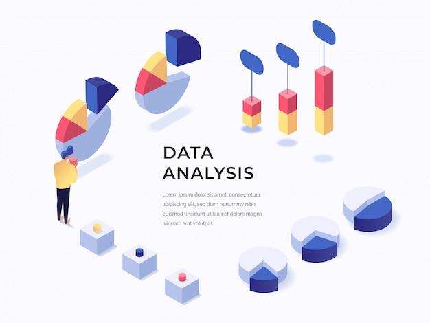 Zielseite der datenanalyse