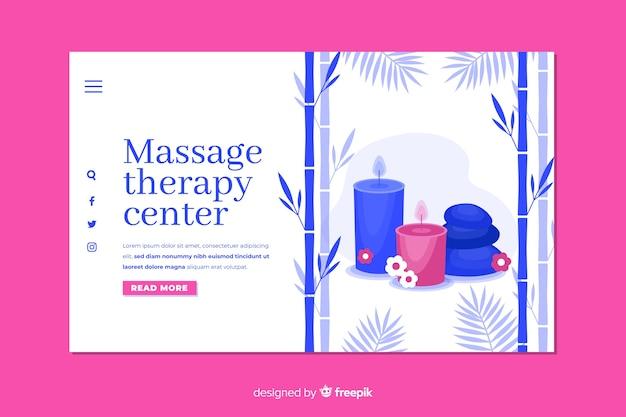 Zielseite des massage-therapie-centers