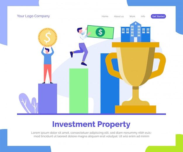 Zielseite für als finanzinvestition gehaltene immobilien