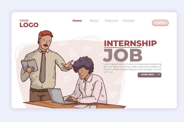 Zielseite für praktikumsjobs
