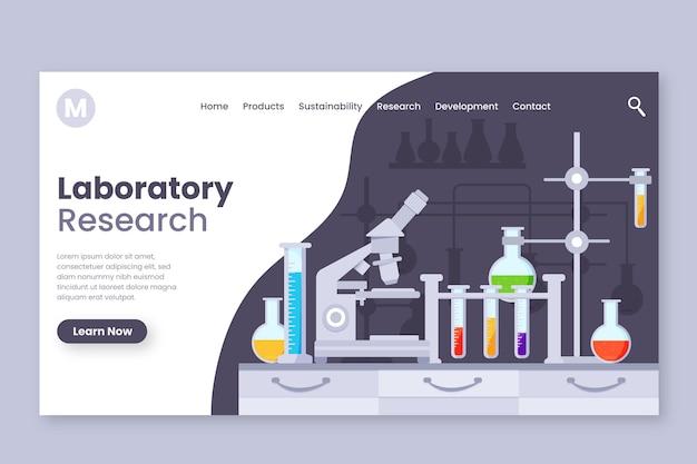 Zielseite für wissenschaftliche forschung