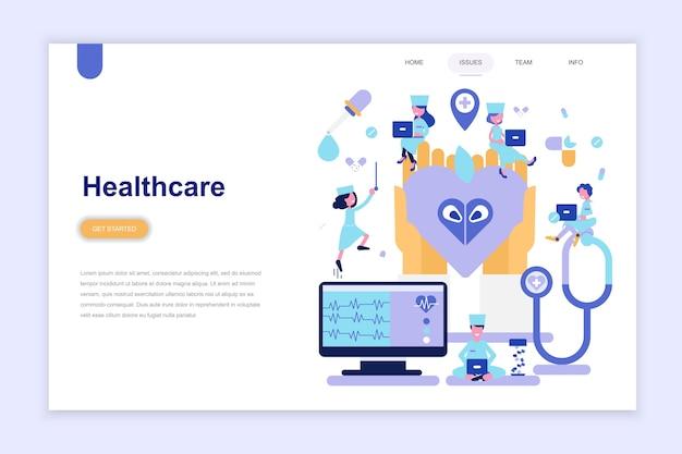 Zielseitenvorlage der gesundheitsversorgung