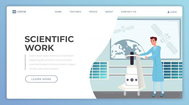 Zielseitenvorlage für wissenschaftliche arbeiten