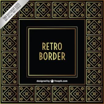 Zier retro border
