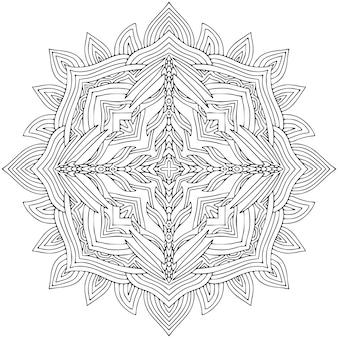 Zierböhmisches mandala